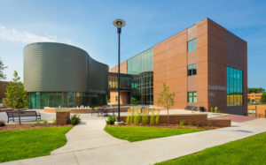 Exterior of Morningside College, Buhler Rohls Hall and Krone Advising Center