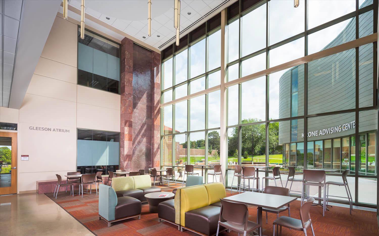 cmba-architects-portfolio-buhler-rohlfs-hall-lobby