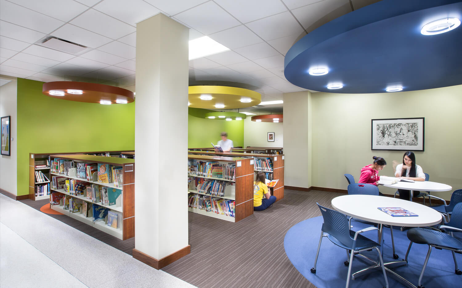 Cmba Architects Portfolio Learning Commons Childrens Library Cmba Architects