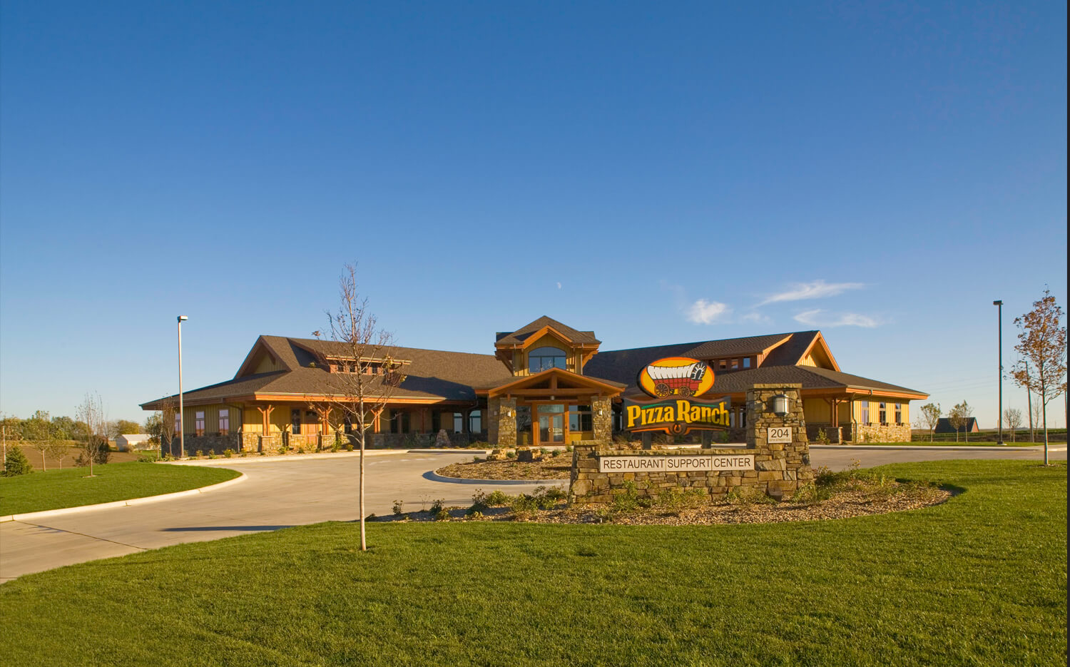 Pizza Ranch Corporate Headquarters Cmba Architects