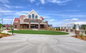 Exterior of Prairie Winds Events Center