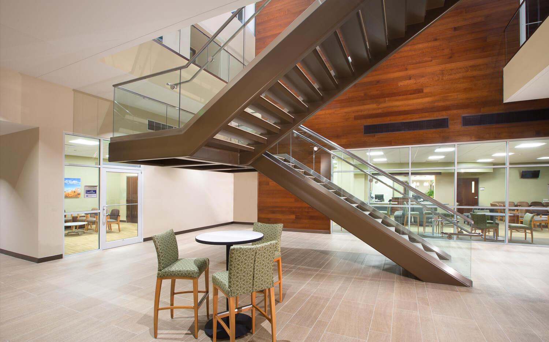 cmba-architects-portfolio-sunnybrook-medical-plaza-stair