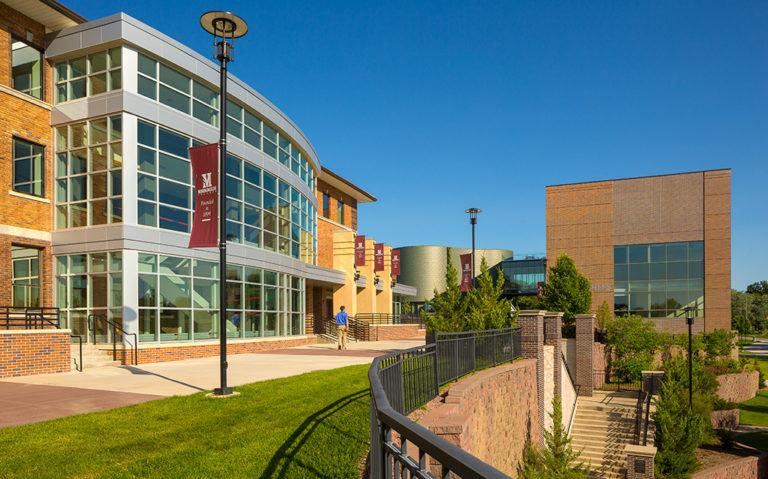 Exterior of Hickman Johnson Furrow Learning Center