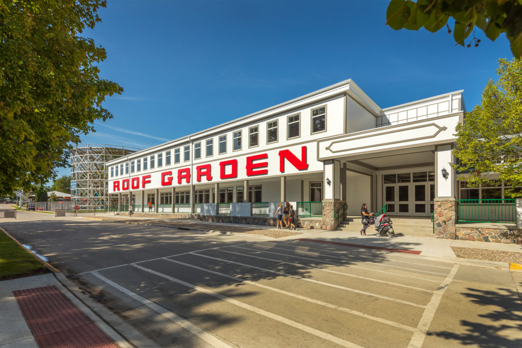 Exterior of Historic Arnolds Park Inc. Roof Garden in Arnolds Park, IA