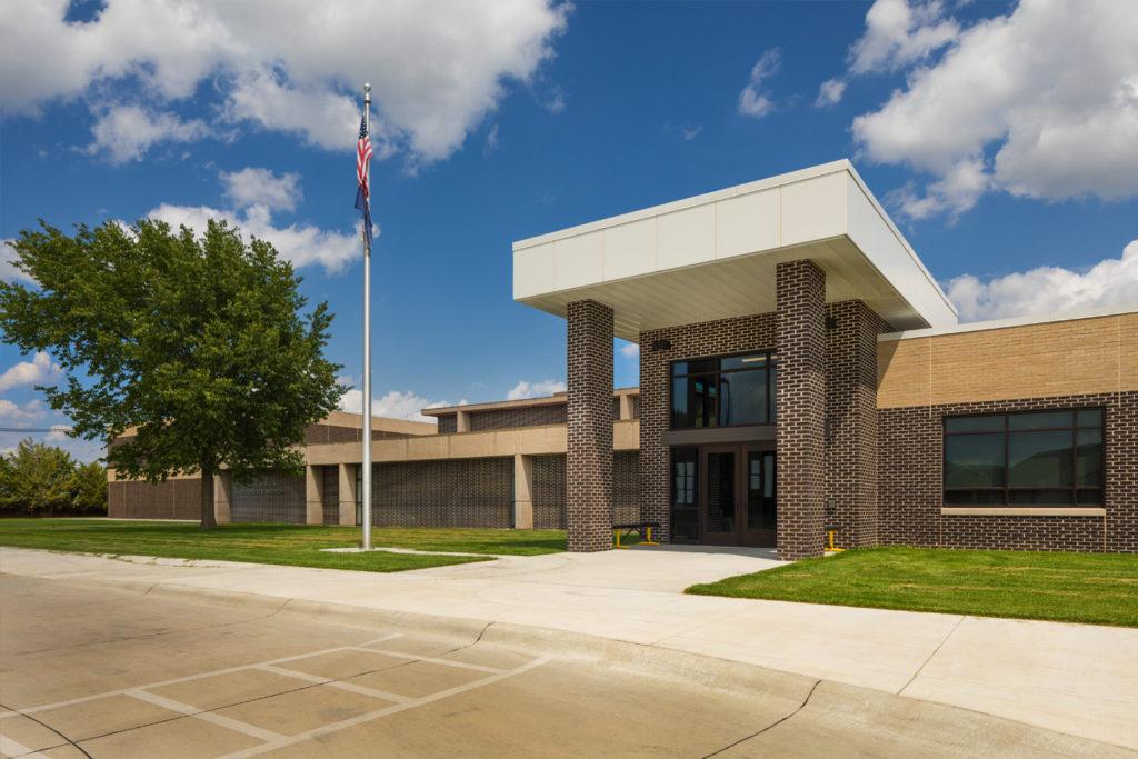 Exterior of Watson Elementary School