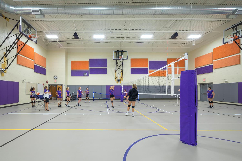 Grand Island Public Schools, Barr Middle School gymnasium