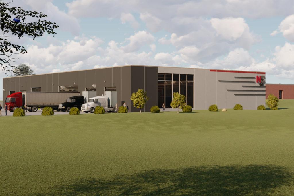 Exterior of NCC Diesel Lab