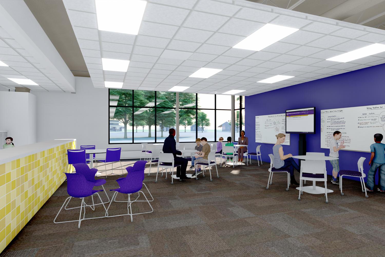 Classroom in Fairview Elementary School