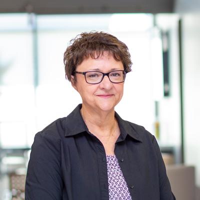 Headshot of CMBA Administrator, Jan Heifer