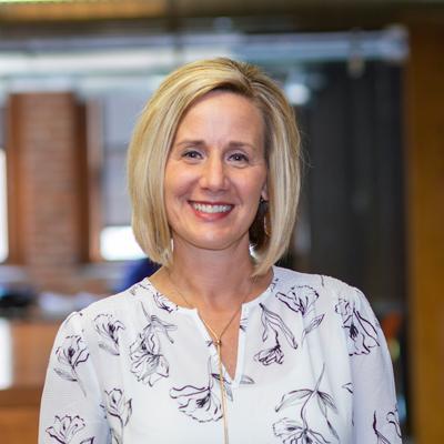 Headshot of CMBA Administrator, Kristen Wynn