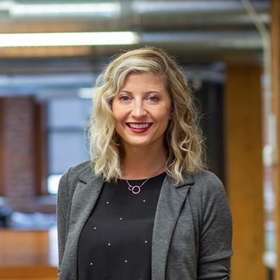 Headshot of CMBA Administrator, Melanie Yates