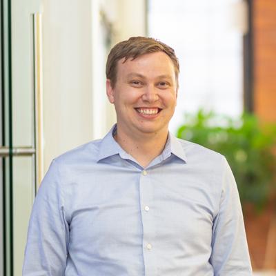 Headshot of CMBA Architect, Matthew Kreutzer