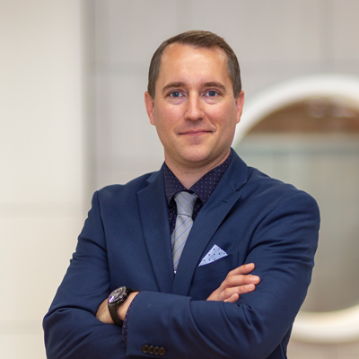 Headshot of CMBA Architect, Ryan Cameron