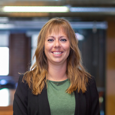 Headshot of Interior Designer, Hilary Hawkins