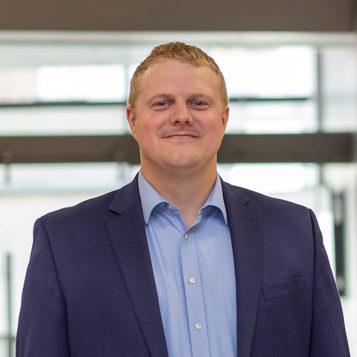 Headshot of CMBA Architect, Adam Van Gorp