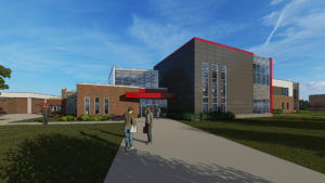 Exterior of NCC Health Science Center