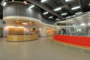 Interior of Northwestern College, Rowenhorst Student Wellness Center