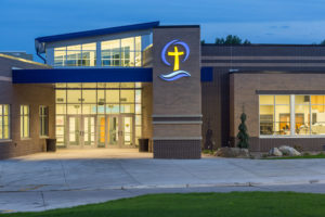 Exterior of Sioux Center Christian Center