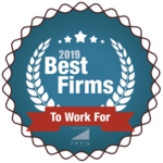 2019 Best Firms To Work For Logo