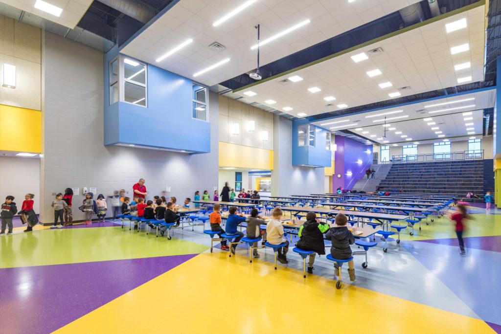 Jefferson Elementary School Commons Area
