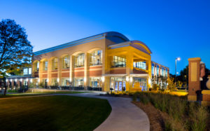 Exterior of Northwestern College, DeWitt Learning Commons