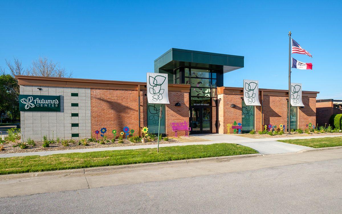 Exterior of Seasons Center for Behavior Health, Autumn's Center