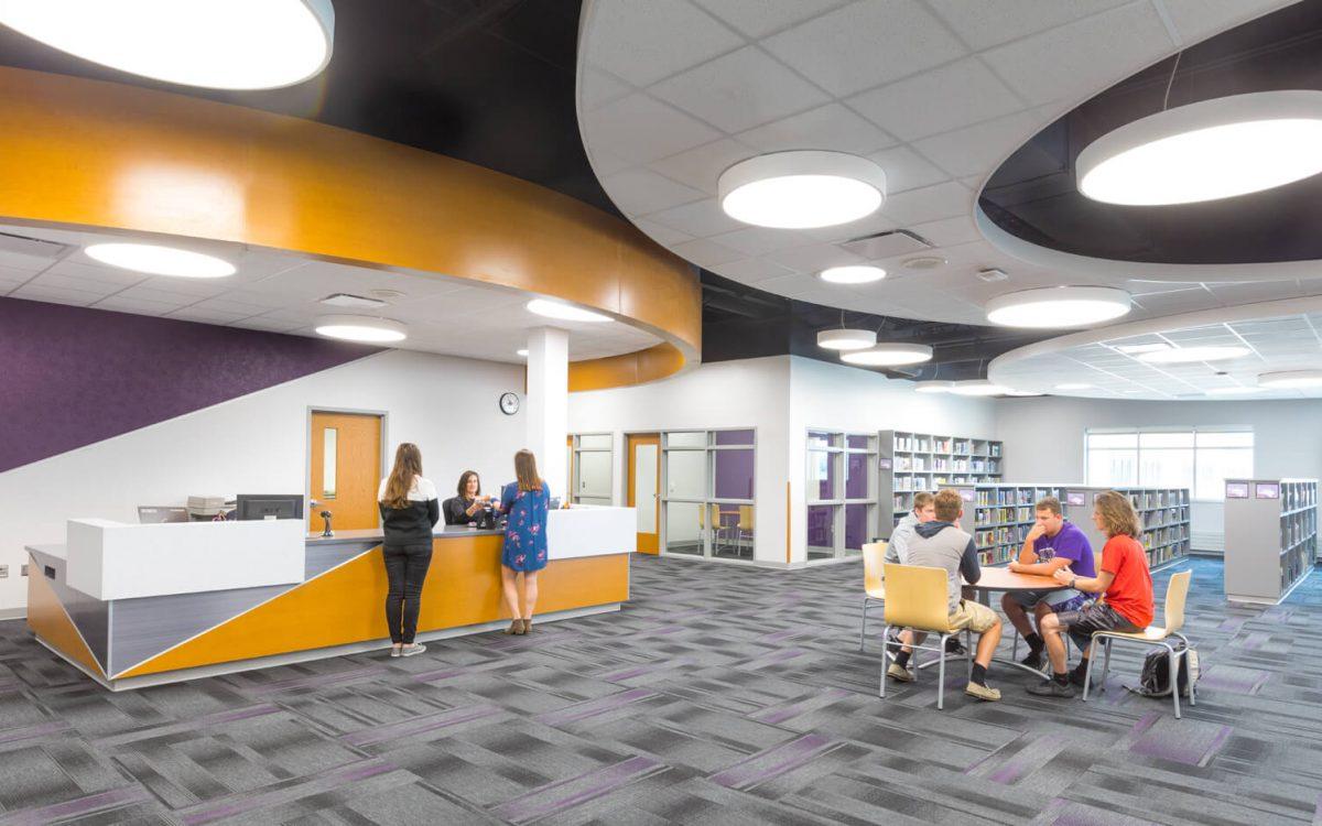 cmba-architects-portfolio-dakota-valley-high-school-media